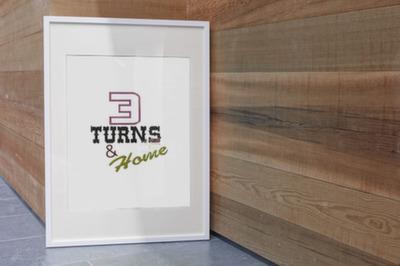 3 Turns