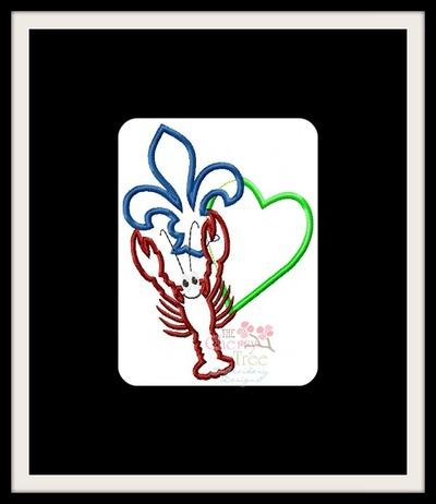 Fleur Heart Crawfish