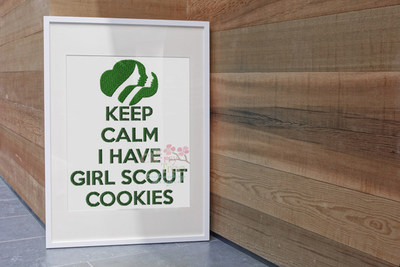 Keep Calm Cookies