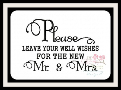 Please Leave Well Wishes