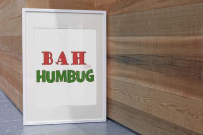Bah Humbug Filled